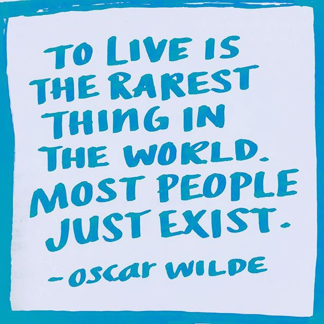 Live and exist